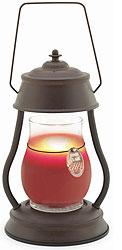 Lantern Candle Warmers Rustic Brown