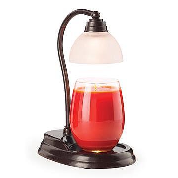 Aurora Candle Warmer Lamps Bronze
