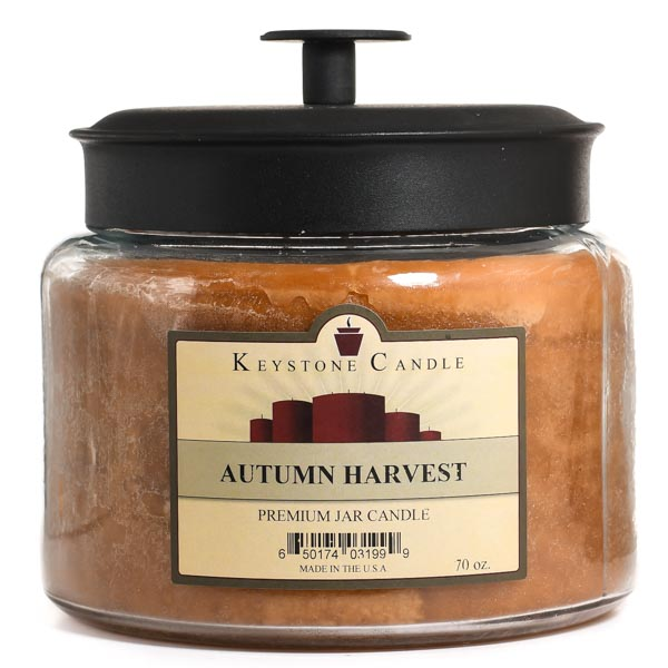 Autumn Harvest 70 oz Montana Jar Candles