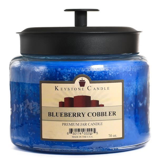 Blueberry Cobbler 64 oz Montana Jar Candles