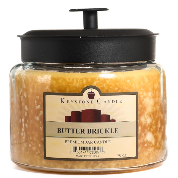 Butter Brickle 64 oz Montana Jar Candles