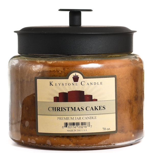 Christmas Cakes 64 oz Montana Jar Candles
