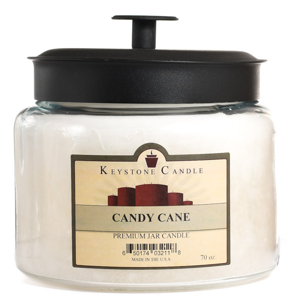 Candy Cane 70 oz Montana Jar Candles