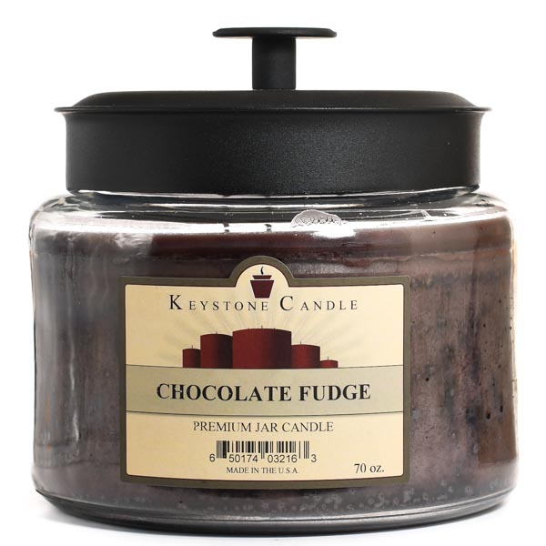 Chocolate Fudge 64 oz Montana Jar Candles