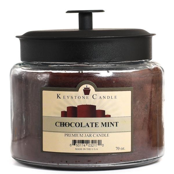 Chocolate Mint 70 oz Montana Jar Candles