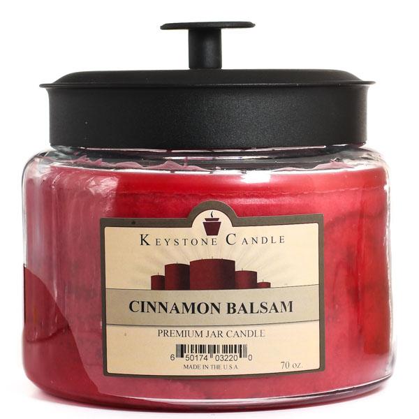 Cinnamon Balsam 70 oz Montana Jar Candles