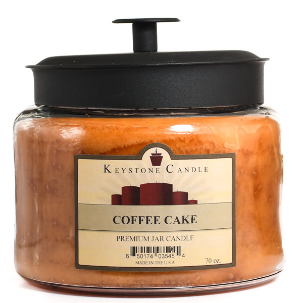 Coffee Cake 64 oz Montana Jar Candles