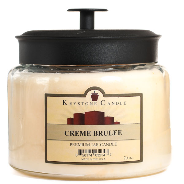 Cream Brulee 70 oz Montana Jar Candles