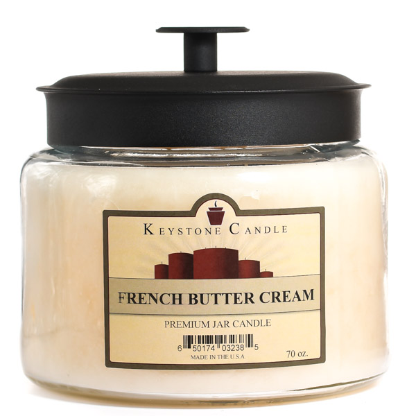 French Butter Cream 70 oz Montana Jar Candles