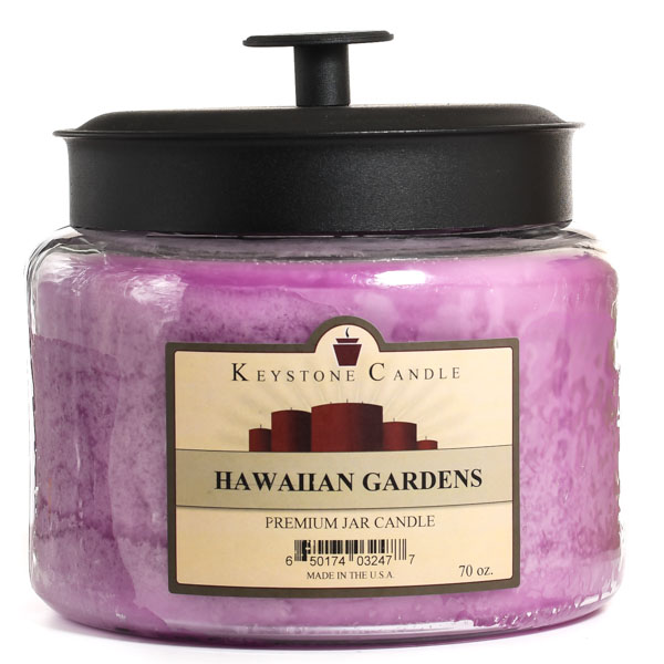 Hawaiian Gardens 64 oz Montana Jar Candles