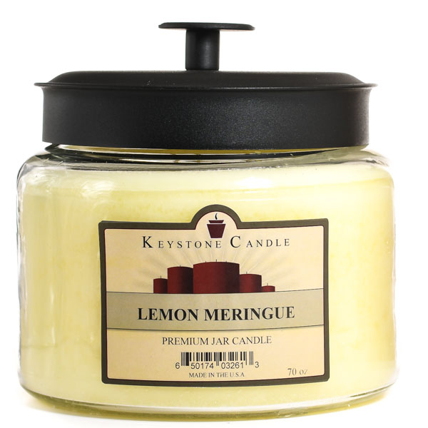 Lemon Meringue 64 oz Montana Jar Candles