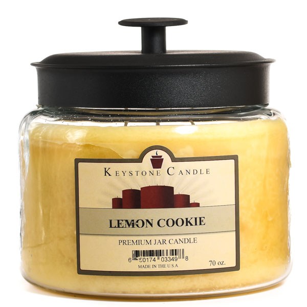 Lemon Cookie 70 oz Montana Jar Candle