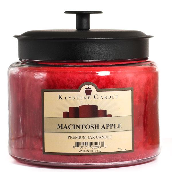 Macintosh Apple 70 oz Montana Jar Candles