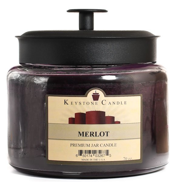 Merlot 70 oz Montana Jar Candles