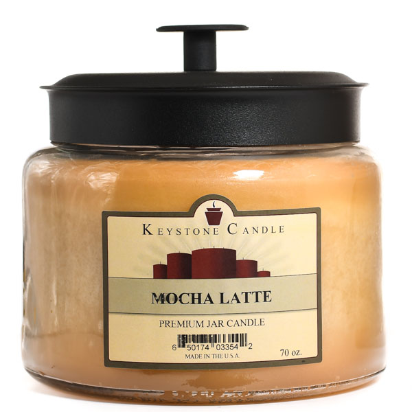 Mocha Latte 70 oz Montana Jar Candle