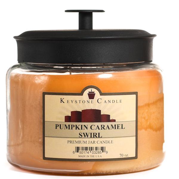 Pumpkin Caramel Swirl 70 oz Montana Jar Candles