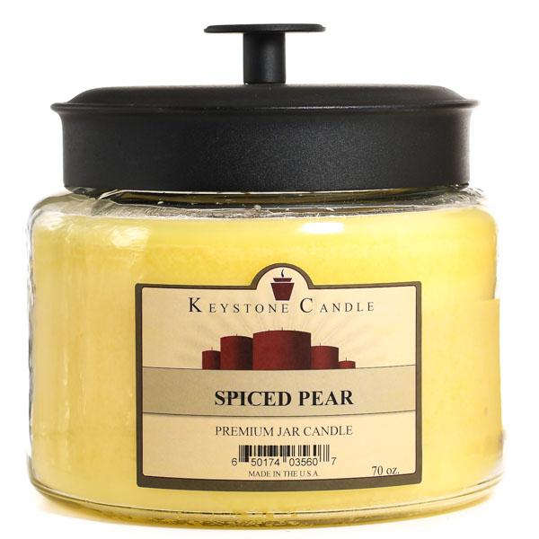 Spiced Pear 70 oz Montana Jar Candles