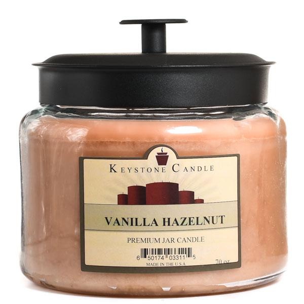 Vanilla Hazelnut 70 oz Montana Jar Candles