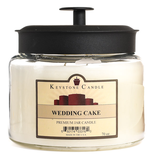 Wedding Cake 70 oz Montana Jar Candles
