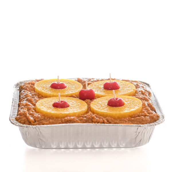 9 inch Pineapple Upside Down Cake Candles