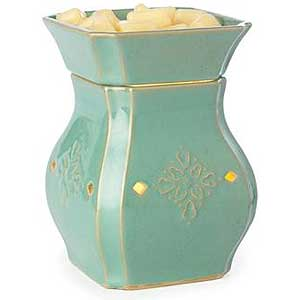 Vintage Electric Tart Warmers Turquoise