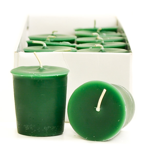 Holiday Wreath Scented Votive Candles