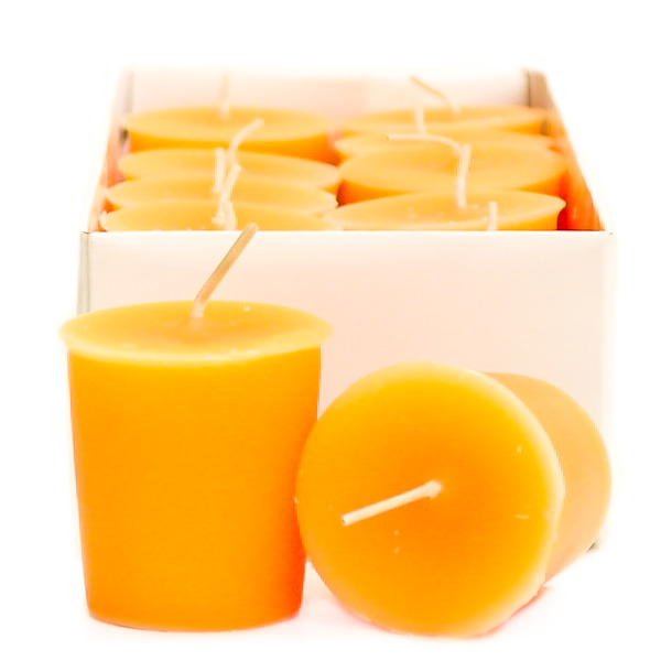 Orange Twist Scented Votive Candles