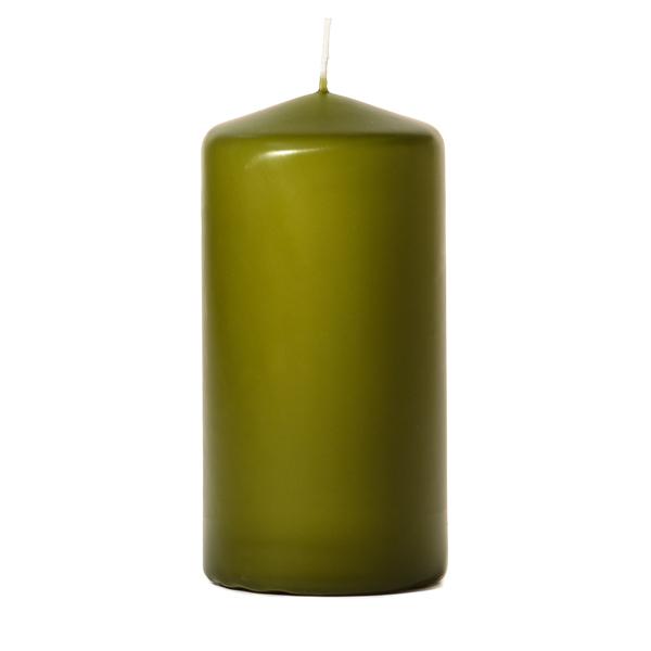 Sage 3 x 6 Unscented Pillar Candles