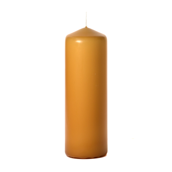 Harvest 3 x 9 Unscented Pillar Candles