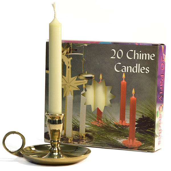 Ivory Chime Candles