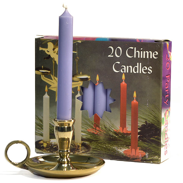 Lavender Chime Candles
