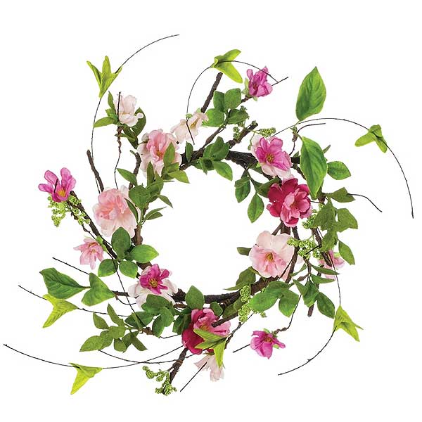 Cherry Blossom 4.5 Inch Candle Ring