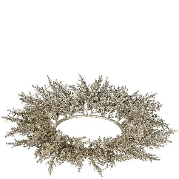 Arborvitae 6.5 Inch Candle Ring