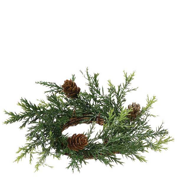 Prickly Pine 2 Inch Candle Ring