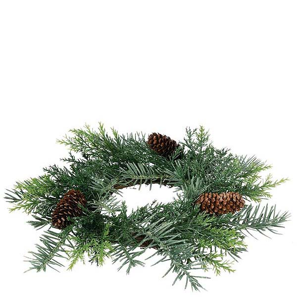 Prickly Pine 4.5 inch Candle Ring