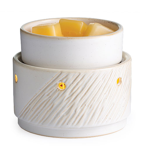 Candle Warmer & Dish Aspen