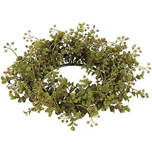 Eucalyptus 6 Inch Candle Ring