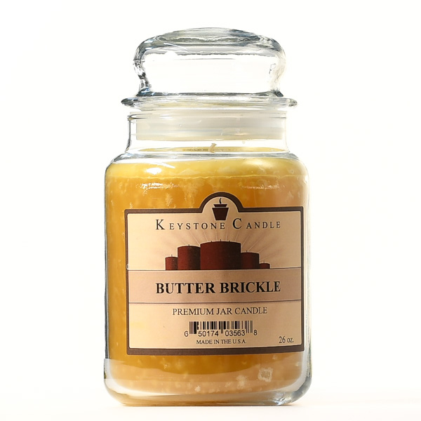 Butter Brickle Jar Candles 26 oz