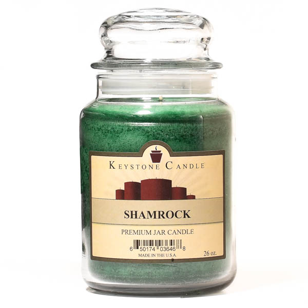 Shamrock Jar Candles 26 oz Limited