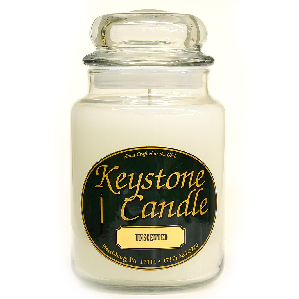 White Unscented Jar Candles 26 oz