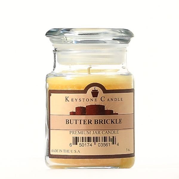 Butter Brickle Jar Candles 5 oz