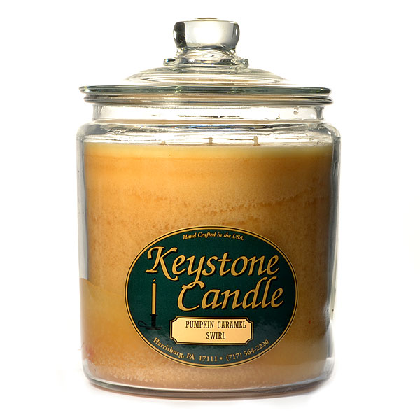 Pumpkin Caramel Swirl Jar Candles 64 oz