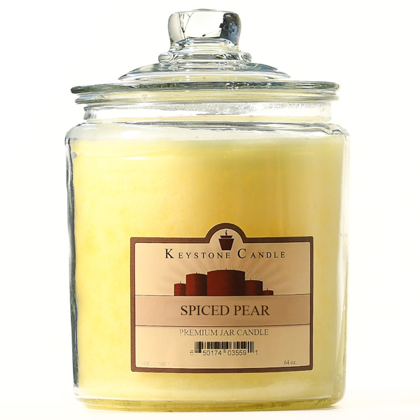 Spiced Pear Jar Candles 64 oz