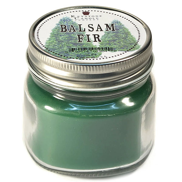 Balsam Fir Mason Jar Candle Half Pint