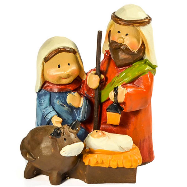 Mini Nativity Cow
