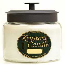 White Unscented 70 oz Montana Jar Candles