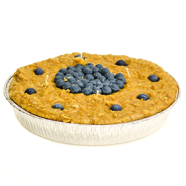 9 inch Blueberry Pie Candles