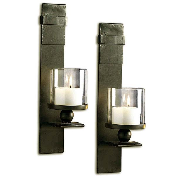 Bolo Wall Sconces Set of 2