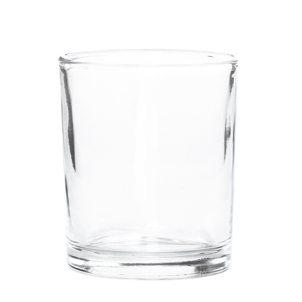Flared Clear Glass Votive Cup