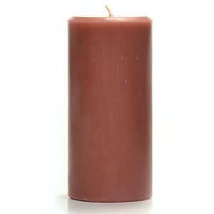 Recycled Wax 3 x 6 Pillar Candles
